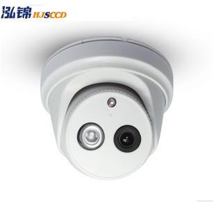 供应网络数字高清 网络半球高清摄像头 130万960P HD IPC 监控摄像机