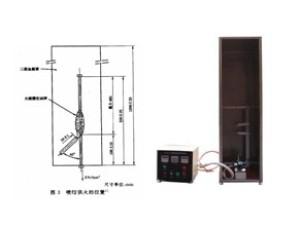单根铜心绝缘细电线电缆垂直燃烧试验机