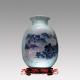 景德镇青花瓷,青花瓷花瓶,商务礼品定做花瓶