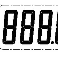 數碼管全兼容電子溫度計IC(ZH1002A)