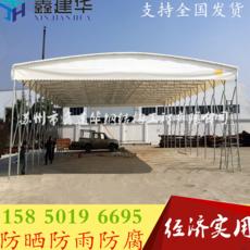 上海定做工地大型帐篷 可移动伸缩雨棚 推拉蓬厂家直销