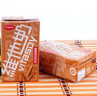 供应 250mL维他奶麦香味豆奶饮料