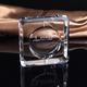 定制高档水晶玻璃烟灰缸 酒店宾馆KTV烟缸 商务礼品赠品 刻logo