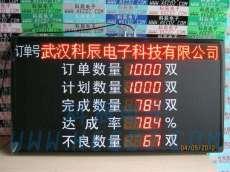大型点阵数码生产电子看板