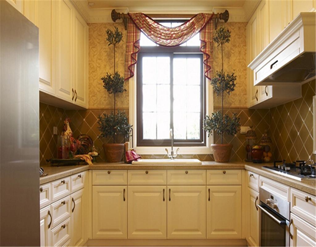 厨房装修效果图-实用厨房收纳设计_中国瓷砖产业网