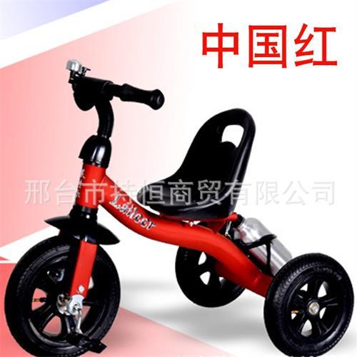 厂家直销发泡轮胎儿童三轮车带减震适合1-3岁儿童