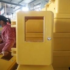 单户型一表位玻璃钢燃气表箱生产厂家