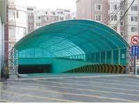 阳光板地下坡道走廊