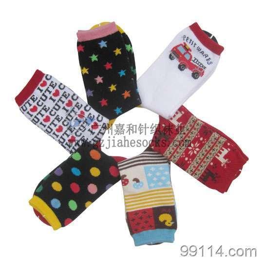 儿童中统袜