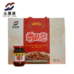 沁慧源招牌拌饭香菇酱210g 香辣香菇味 拌饭拌面优选调味酱