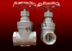 不锈钢手动耐高温闸阀DN15-50