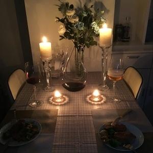 欧式高档水晶烛光晚餐   表白求婚道具  家居小摆件蜡烛台工艺品