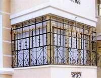 铁艺护窗栏