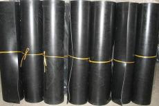 黑色耐磨耐冲击耐油工业橡胶板河北厂家夹布橡胶板