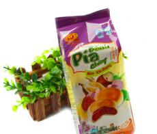 【整箱包邮】进口食品 越南特产新华园榴莲饼400g 香芋味休闲茶点