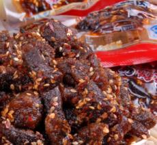蜀道香 天椒麻辣牛肉干条100g 辣爽零食小吃四川特产