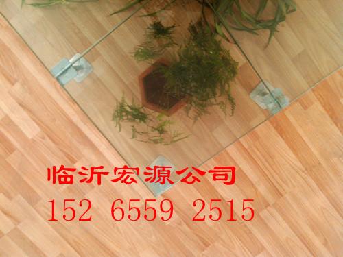 透明玻璃地板應用于家庭裝修室外廣場設計價格–中國
