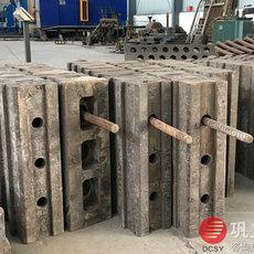 东辰新型高铬复合板锤大型生产厂家质量有保证
