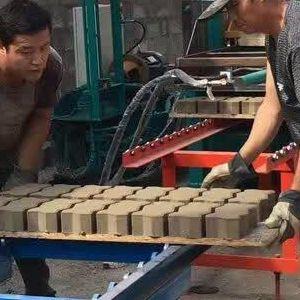 供应河北S砖制砖机 连锁块设备供应商 建丰港口码头连锁块设备