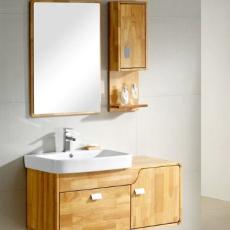 供应 高档浴室柜 橡木 洗脸盆