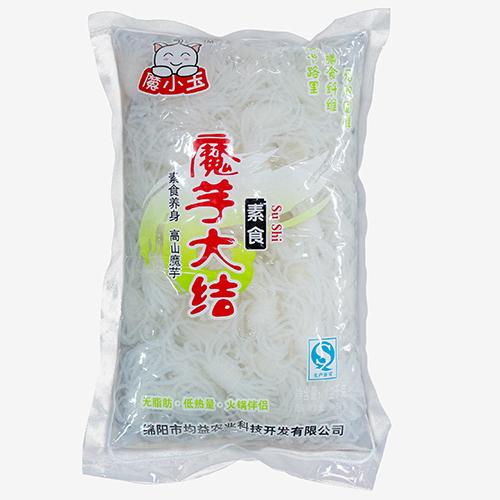 魔小玉 魔芋丝结大袋装 凉拌火锅炒菜均可 低热量魔芋粉丝