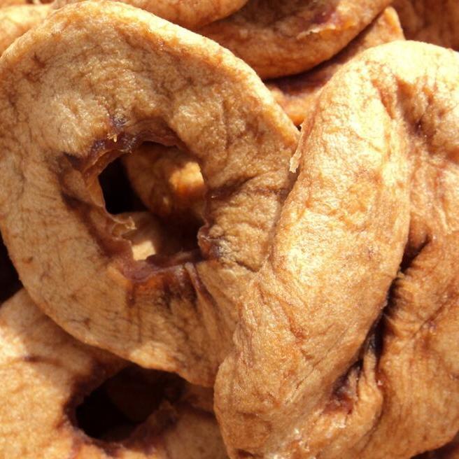 散装苹果圈果干17斤一箱专业厂家直供果干蜜饯休闲零食批发