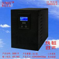 5000W正弦波家用逆变器48V转220V太阳能电源转变器变压器带充电稳压一体机