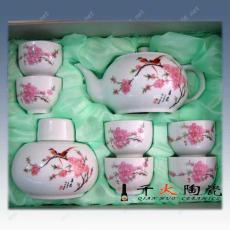 水点桃花,水点桃花杯,水点桃花瓷器