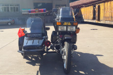 湘江750边三轮车---亮黑色,改装加装款