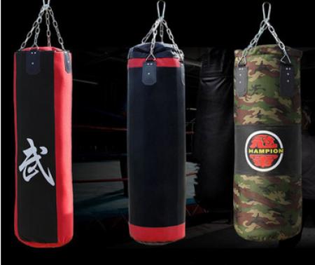 【厂家直销】家用吊式成人空心拳击沙袋拳击沙包散打拳击训练沙包