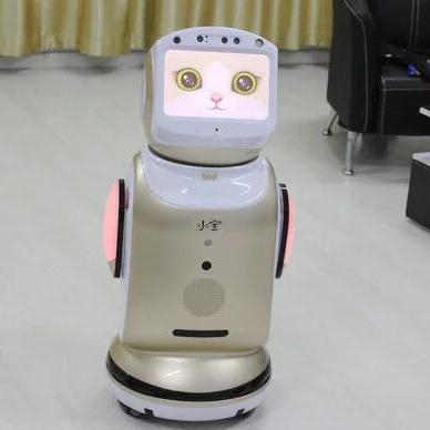 体感游戏 送餐 迎宾机器人 小胖智能对话 语音聊天学习 陪护投影