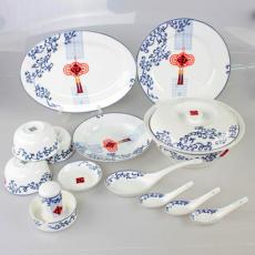 中国新年礼品餐具 春节礼品陶瓷餐具 新年新品陶瓷餐具
