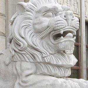 优质石狮雕塑  山东优质异型石材