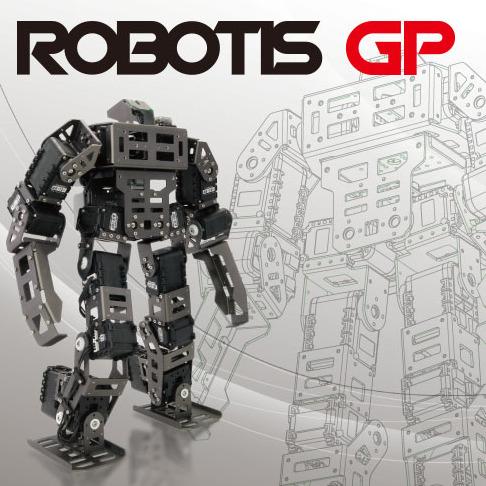 Bioloid GP高级套件  格斗比赛机器人ROBOTIS进口人形智能机器人