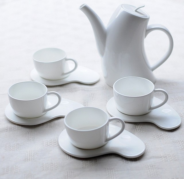 海洋贝瓷凤凰茶具大放异彩