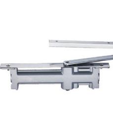 供应 供应闭门器 银灰色铝合金超薄隐藏式闭门器