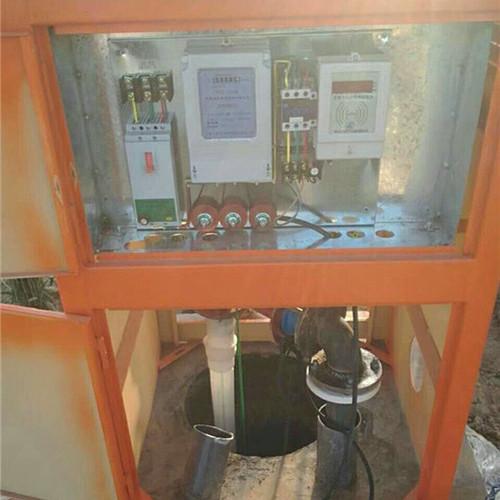 钢制井房安装,智能钢制井房安装,源合直销