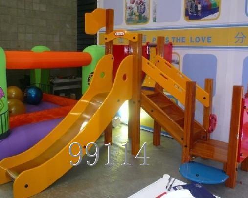 肯德基滑梯,室内外滑梯,儿童淘气堡,儿童乐园,新型环保塑料摇摆机