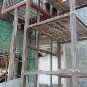深圳宝安厂房商铺钢结构阁楼搭建