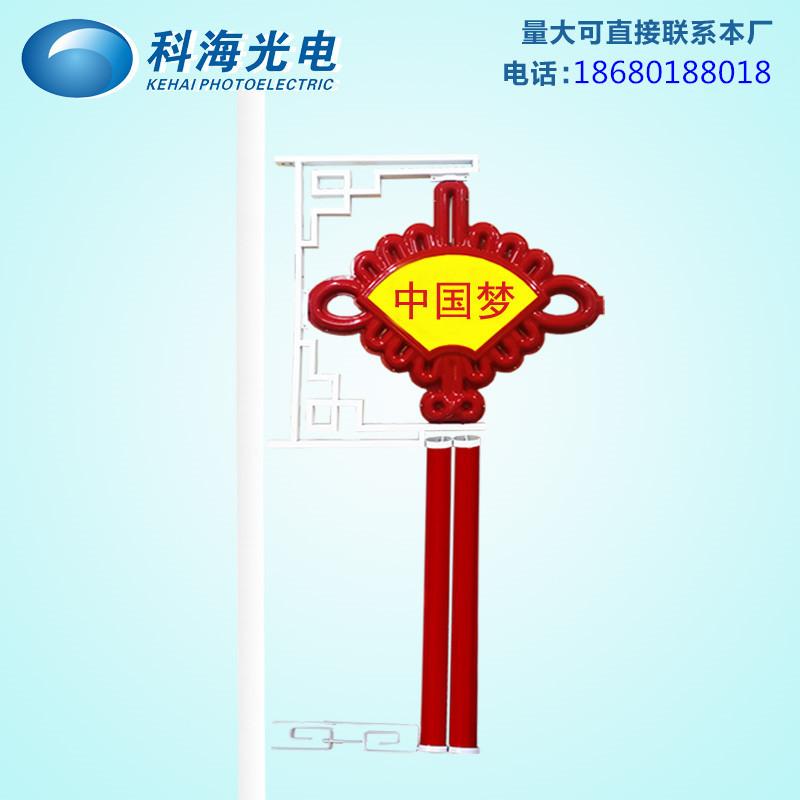 扇形led中国结景观亮化中国结厂家现货热销