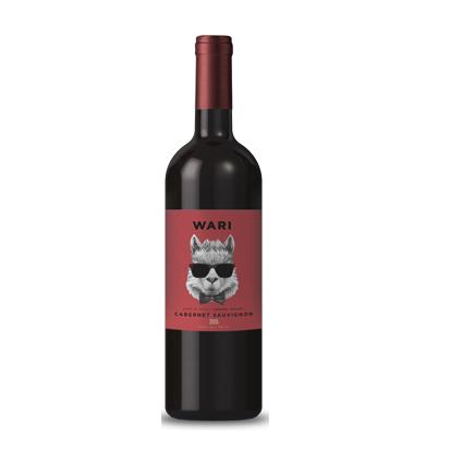 智力羊驼赤霞珠干红葡萄酒
