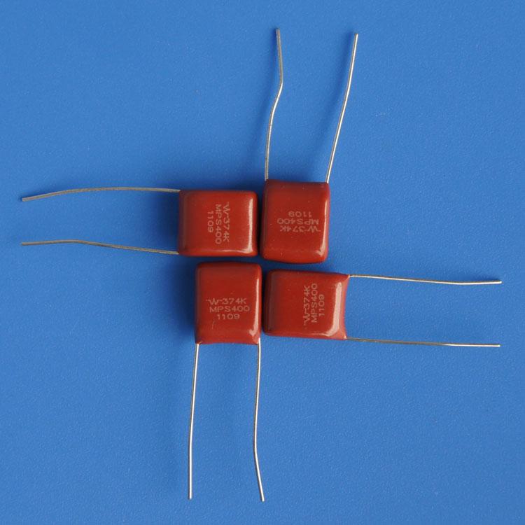 薄膜电容厂家直供 MPS374K400V 0.37uf金属化聚丙膜(安全型)电容 pfc电容