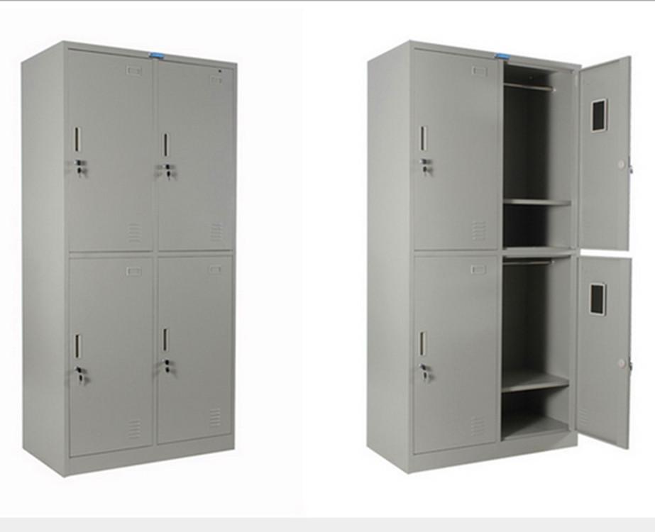 批发宿舍员工更衣柜-四门员工更衣柜-适合工厂用更衣柜