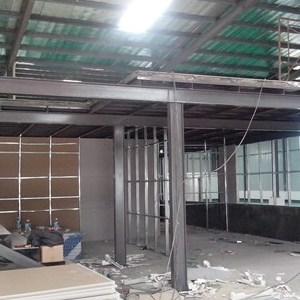深圳宝安钢结构公司 阁楼安装楼梯加工