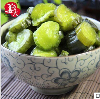 姜老大腌制青脆黄瓜咸菜 下饭小菜酱菜泡菜1000g莱芜特产包邮