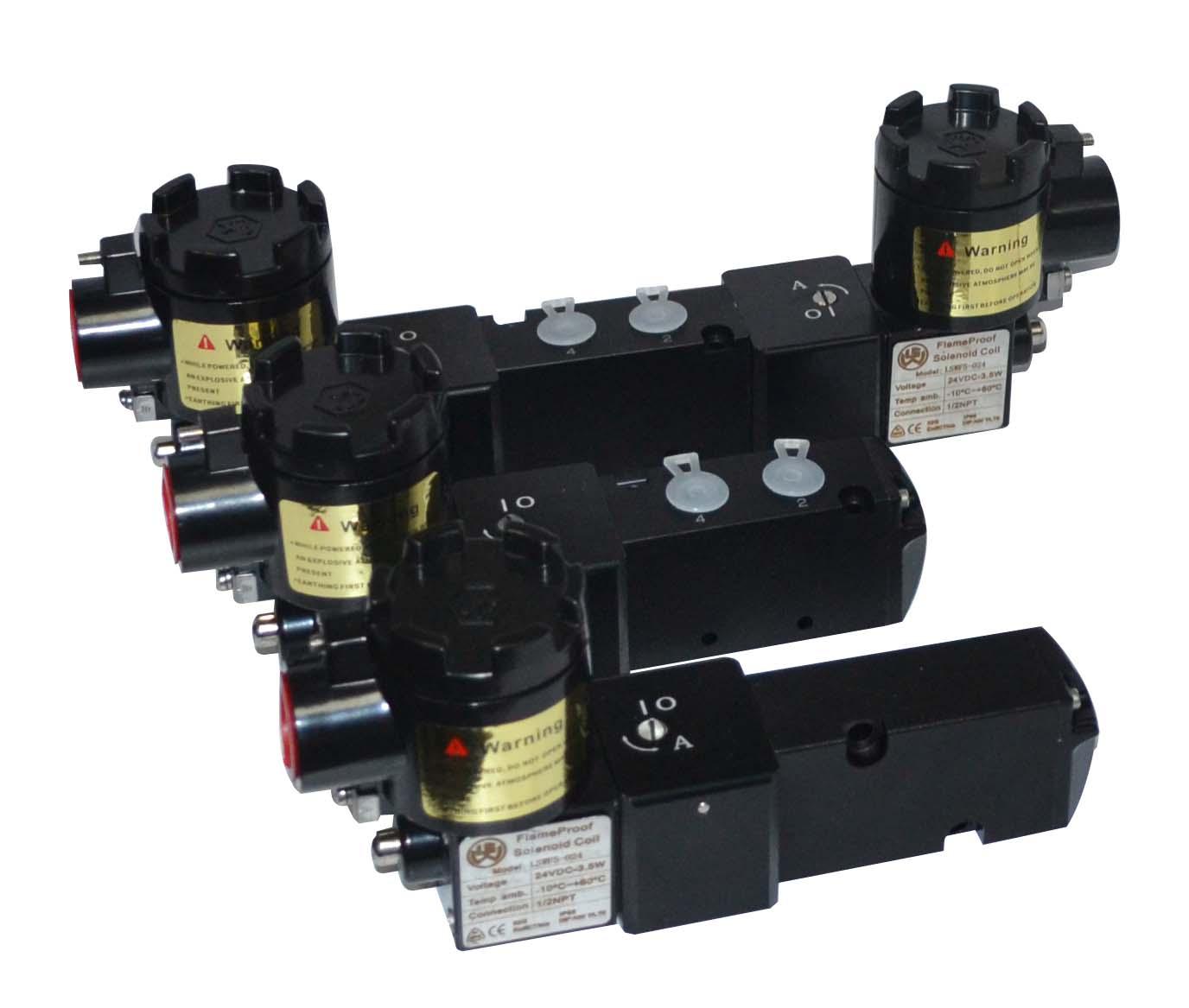 集成安装CT6防爆电磁阀,隔爆电磁阀,电磁控制阀