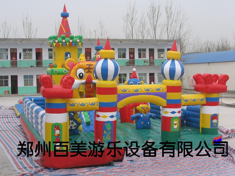 东营儿童充气蹦蹦床新款充气城堡,儿童充气游乐堡,忒得劲