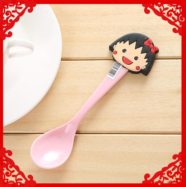 六一儿童节卡通勺子筷子叉子餐具套餐组合 pvc超可爱勺子套图形图片