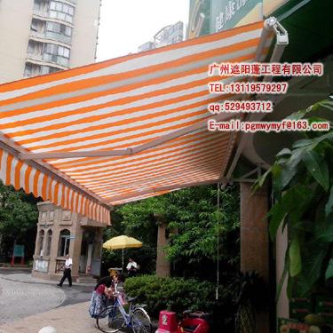广州雨棚 伸缩雨棚