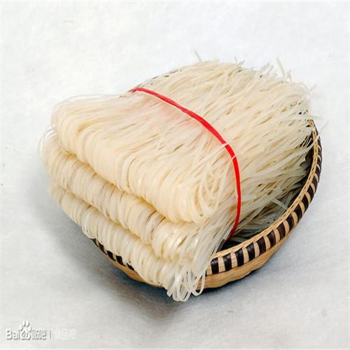 宽扁干米粉 饭店面条 炒粉 汤粉纯大米手工制作散装 货源稳定图片